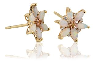 Preview image of Clogau Snowdon Lily Opal Earrings
