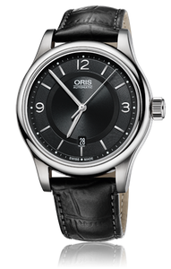 Preview image of Oris Classic Date Black Automatic Strap Watch