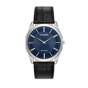 Preview image of Citizen Stiletto Navy Dial Gents Leather Strap Watch