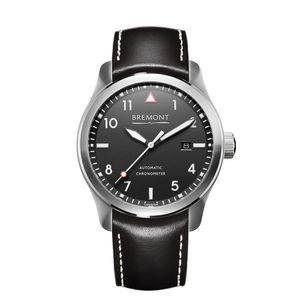 Preview image of Bremont SOLO Matt Black Strap Watch