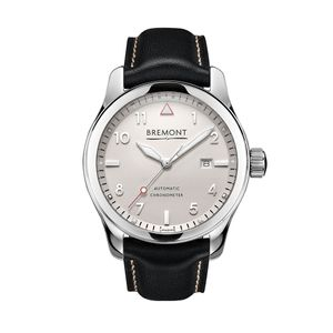 Preview image of Bremont SOLO Polished White Strap Watch