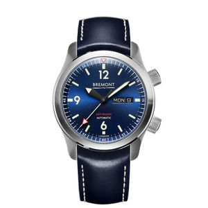 Preview image of Bremont U2 Blue Day/Date Strap Watch
