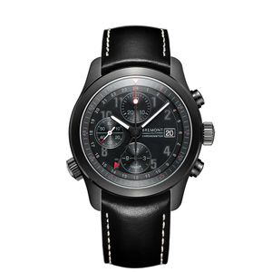 Preview image of Bremont ALT1-B Black Leather Strap Watch
