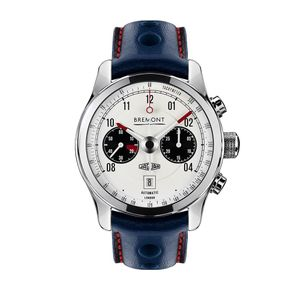 Preview image of Bremont E-Type MKII White Automatic Strap Watch