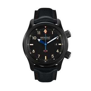 Preview image of Bremont U-2/51-JET Automatic Leather Strap Watch