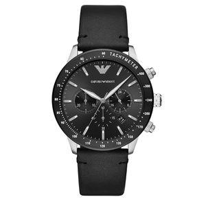 Preview image of Emporio Armani Mario Gents Black Dial Strap Watch