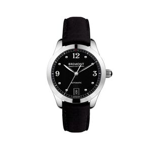 Preview image of Bremont SOLO-34 AJ Ladies Black Strap Watch