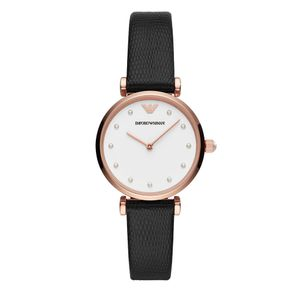 Preview image of Emporio Armani Gianni Ladies Rose Plated Strap Watch