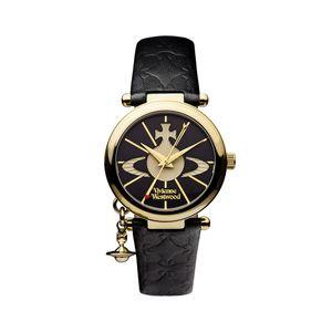 Preview image of Vivienne Westwood Orb II Black Strap Watch