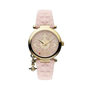Preview image of Vivienne Westwood Orb II Pink Strap Watch