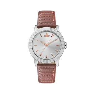 Preview image of Vivienne Westwood Warwick Mauve Strap Watch