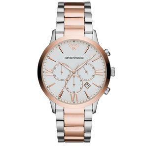 Preview image of Emporio Armani Giovanni Gents Bi-colour Bracelet Watch