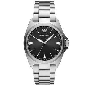 Preview image of Emporio Armani Nicola Gents Black Dial Bracelet Watch