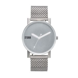 Preview image of Storm Blast V2 Gents Grey Frosted Glass Bracelet Watch