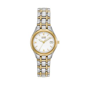Preview image of Citizen Women's Silhouette Stainless steel and Yellow Gold Plating Bracelet Watch