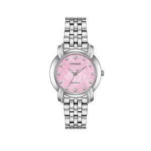 Preview image of Citizen Ladies Eco-Drive Jolie Diamond Pink Watch