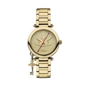Preview image of Vivienne Westwood Kensington Gold Plated Bracelet Watch