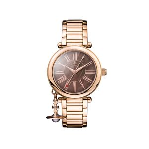 Preview image of Vivienne Westwood Rose Gold Mother Orb Bracelet Watch