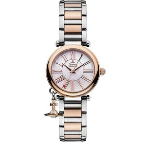 Preview image of Vivienne Westwood Mother Orb Bi-Colour Bracelet Watch