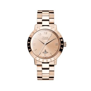 Preview image of Vivienne Westwood Bloomsbury Rose Gold Plated Bracelet Watch