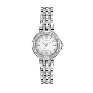 Preview image of Citizen Ladies Eco-Drive Silhouette Diamond Watch