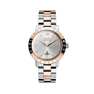 Preview image of Vivienne Westwood Bloomsbury Rose Plated Bi-Colour Bracelet Watch