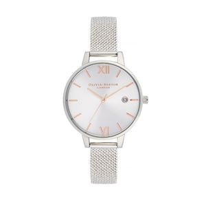Preview image of Olivia Burton Sunray Demi Dial Boucle Mesh Watch