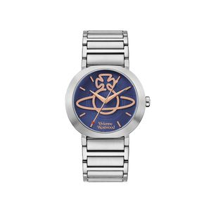 Preview image of Vivienne Westwood Clerkenwell Blue Dial Bracelet Watch