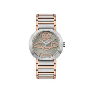 Preview image of Vivienne Westwood Clerkenwell Khaki Dial Bracelet Watch