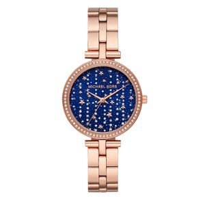 Preview image of Michael Kors Maci Blue Star Dial Bracelet Watch