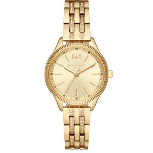 Preview image of Michael Kors Lexington Gold Plated Ladies Bracelet Watch