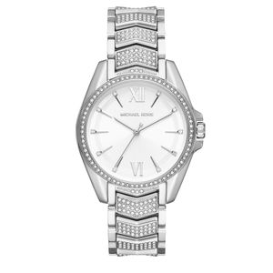 Preview image of Michael Kors Whitney Full Stone Set Stainless-steel Bracelet Watch