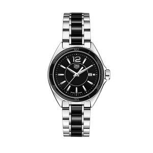 Preview image of Tag Heuer Ladies Black Ceramic F1 Bracelet Watch