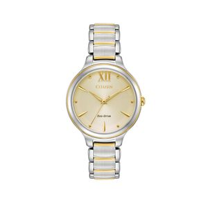 Preview image of Citizen Ladies Eco-drive Gold Plated 32mm Bracelet Watch