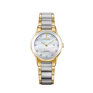 Preview image of Citizen Ladies Eco Drive Axiom Diamond Bi Colour Watch