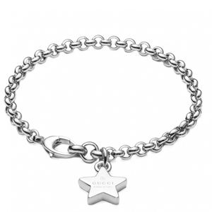 Preview image of Gucci Trademark Sterling Silver Star Bracelet