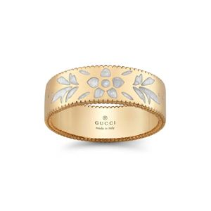 Preview image of Gucci Icon Blossom 18ct Yellow Gold Ring