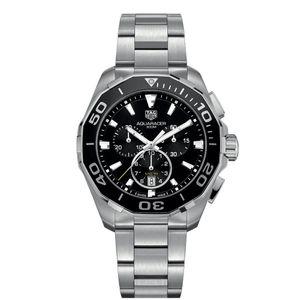 Preview image of Tag Heuer Aquaracer Chronograph Black Dial Men's Bracelet Watch