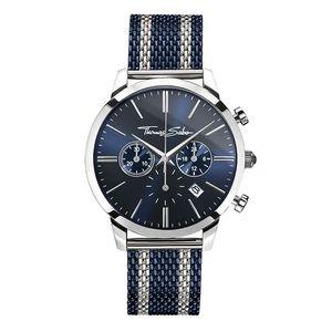 Preview image of Thomas Sabo Mesh Blue Chrono Bracelet Watch