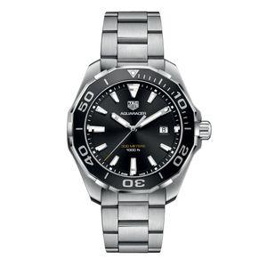 Preview image of Gents Tag Heuer Aquaracer 43mm Black Dial Aquaracer