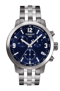 Preview image of Tissot PRC200 Quartz Chrono Blue Dial Watch