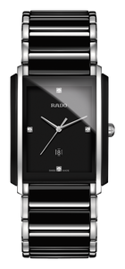 Preview image of Rado Integral Black and Steel Diamond Set Watch