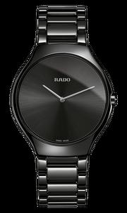 Preview image of Gents Rado True Thinline Black Watch