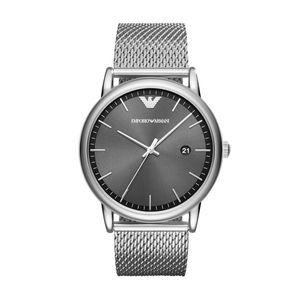 Preview image of Gents Emporio Armani Grey Mesh Watch