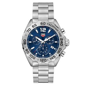 Preview image of Tag Heuer Men's Formula 1 Blue Dial Chronograph Bracelet Watch