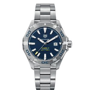 Preview image of Tag Heuer Aquaracer Automatic Blue Dial Gents Bracelet Watch