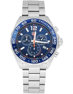 Preview image of Tag Heuer F1 Blue Gents Chronograph Watch