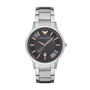 Preview image of Gents Emporio Armani Grey and RGP Watch