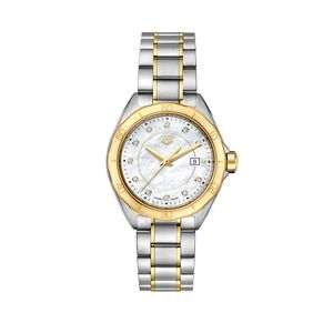 Preview image of Tag Heuer Ladies Bi-Coloured F1 Diamond Set Bracelet Watch