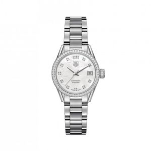 Preview image of TAG Heuer Carrera ladies Diamond Dot and bezel Automatic Bracelet Watch